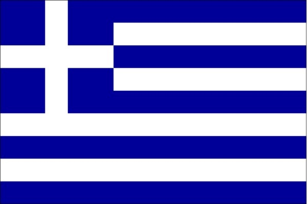 LOGO GREEK FLAG